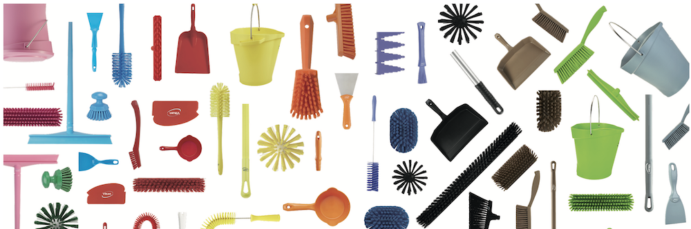 Vikan Hygienic Cleaning Tools